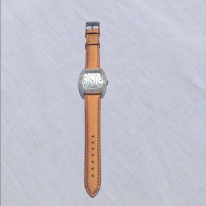 Schandra | Rhinestone Copper Watch